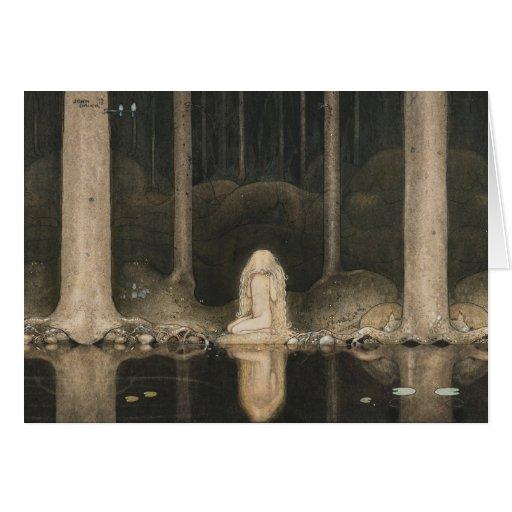 Bauer Tuvstarr CC0414 Fairy Tale Greeting Card