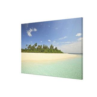 Baughagello Island, South Huvadhoo Atoll, 2 Canvas Print