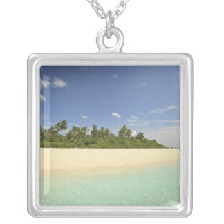 Baughagello Island, South Huvadhoo Atoll, 2 Silver Plated Necklace