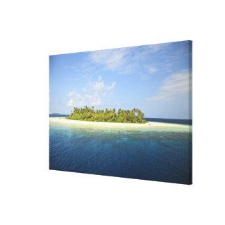 Baughagello Island, South Huvadhoo Atoll, 3 Canvas Print