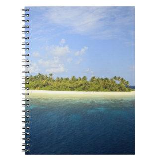 Baughagello Island, South Huvadhoo Atoll, 3 Spiral Notebook
