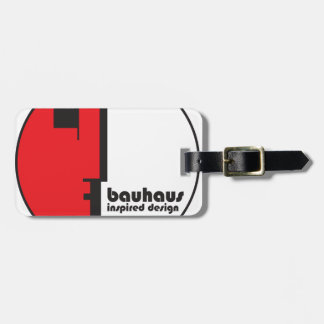 BAUHAUS Classic Circle Profile Icon Luggage Tag