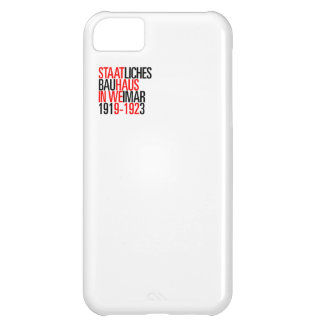 Bauhaus collection white case iphone iPhone 5C case