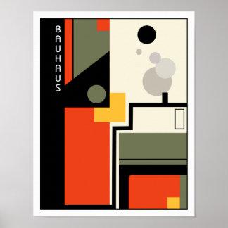 Bauhaus Industry Poster