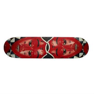 Baule mask, Ivory Coast Skateboard Deck
