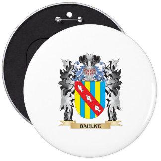 Baulke Coat of Arms - Family Crest 6 Cm Round Badge
