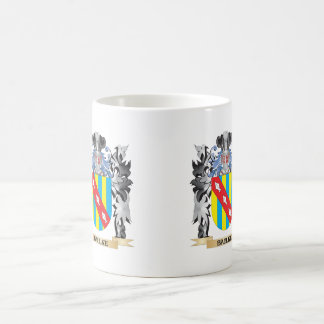 Baulke Coat of Arms - Family Crest Basic White Mug