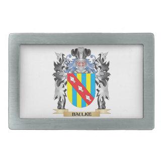 Baulke Coat of Arms - Family Crest Belt Buckles