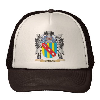 Baulke Coat of Arms - Family Crest Cap