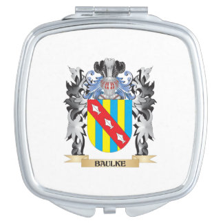 Baulke Coat of Arms - Family Crest Vanity Mirrors