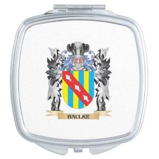 Baulke Coat of Arms - Family Crest Vanity Mirrors