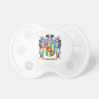 Baulke Coat of Arms - Family Crest Baby Pacifiers