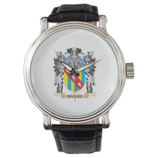 Baulke Coat of Arms - Family Crest Wrist Watch