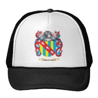 Baulke Coat of Arms (Family Crest) Mesh Hats