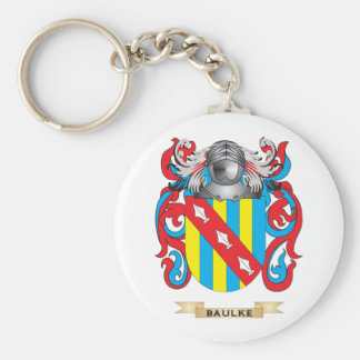 Baulke Coat of Arms Family Crest Key Chains