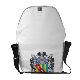 Baulke Coat of Arms - Family Crest Messenger Bags