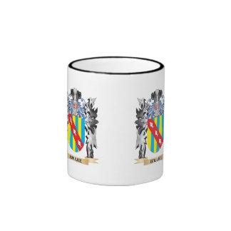 Baulke Coat of Arms - Family Crest Ringer Mug