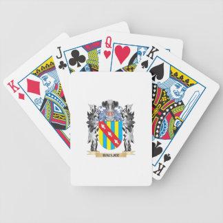 Baulke Coat of Arms - Family Crest Poker Deck
