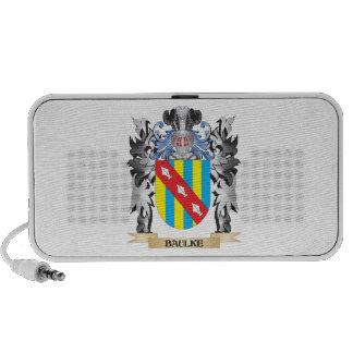 Baulke Coat of Arms - Family Crest Portable Speakers