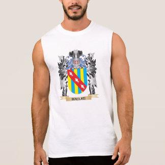 Baulke Coat of Arms - Family Crest Sleeveless T-shirts