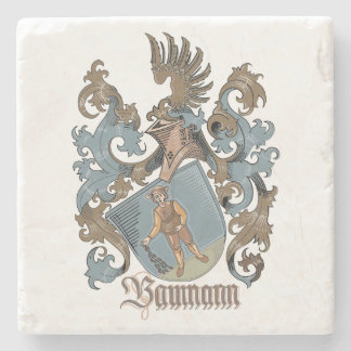 Baumann Family Stone Coasters Stone Coaster