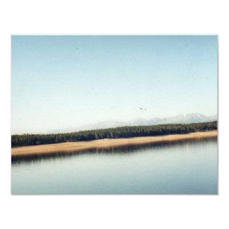 Bautiful Lake in Colorado 11 Cm X 14 Cm Invitation Card
