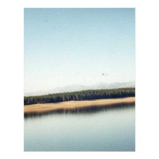 Bautiful Lake in Colorado 21.5 Cm X 28 Cm Flyer