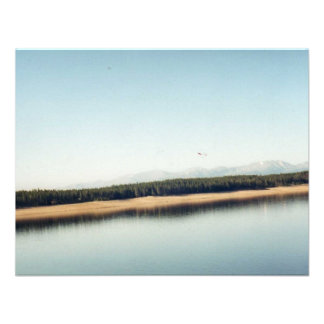 Bautiful Lake in Colorado Personalized Announcement