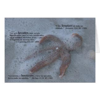 Bautizmo Carta Greeting Card