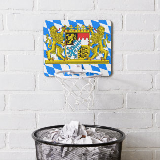 Bavaria Coat of arms Mini Basketball Hoop