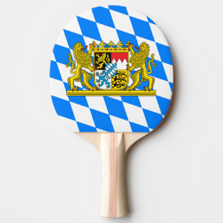 Bavaria Coat of arms Ping Pong Paddle