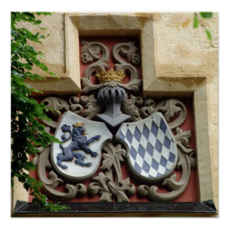 Bavaria Coat of Arms Poster
