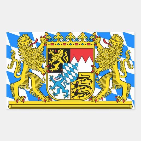 Bavaria Coat of arms Rectangular Sticker