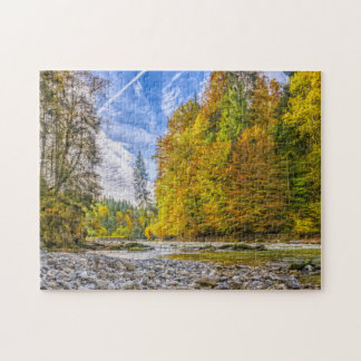 Bavaria Countryside In Autumn Jigsaw Puzzle