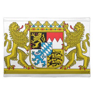 Bavaria (Germany) Coat of Arms Placemat