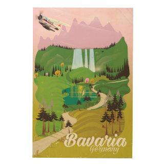 Bavaria Germany landscape travel print