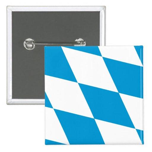 Bavaria (Lozengy), Germany flag Pin