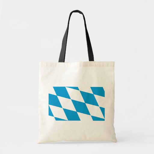 Bavaria (Lozengy), Germany flag Bags