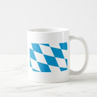 Bavaria (Lozengy), Germany flag Basic White Mug