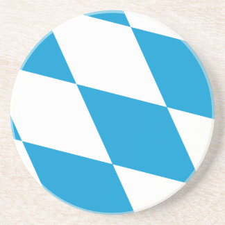 Bavaria Lozengy Germany flag Drink Coaster