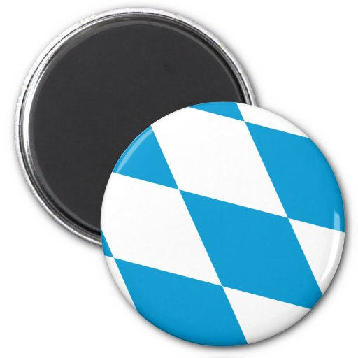 Bavaria (Lozengy), Germany flag Magnet