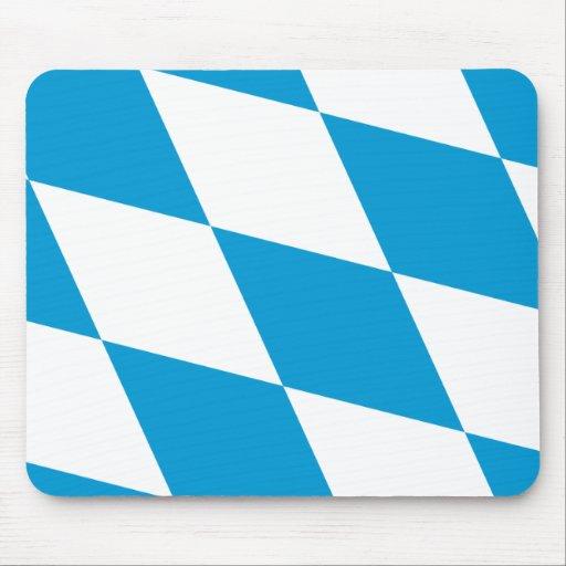 Bavaria (Lozengy), Germany flag Mouse Pad