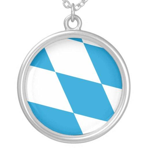 Bavaria (Lozengy), Germany flag Pendants