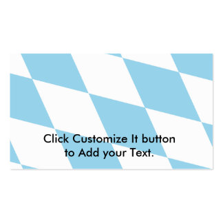 Bavaria (Lozengy), Germany flag Pack Of Standard Business Cards