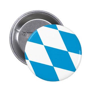 Bavaria Lozengy Germany flag Pin
