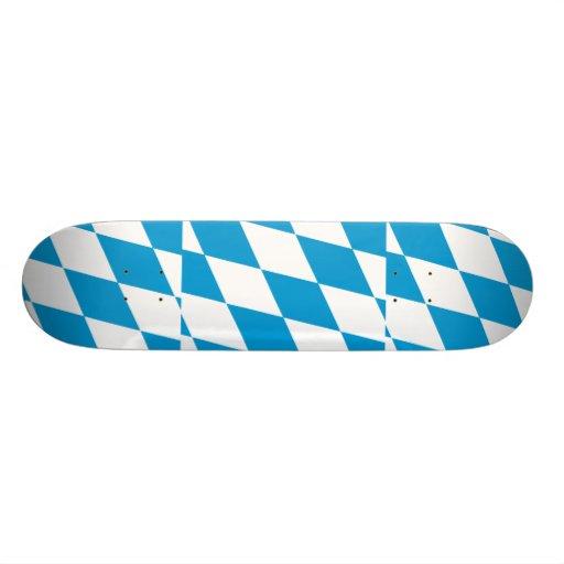 Bavaria (Lozengy), Germany flag Skateboard