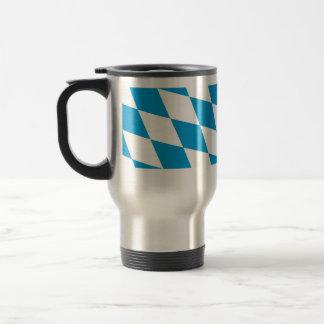 Bavaria (Lozengy), Germany flag Stainless Steel Travel Mug
