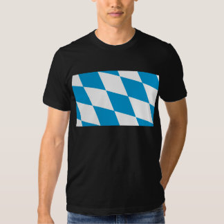 Bavaria (Lozengy), Germany flag T-shirts