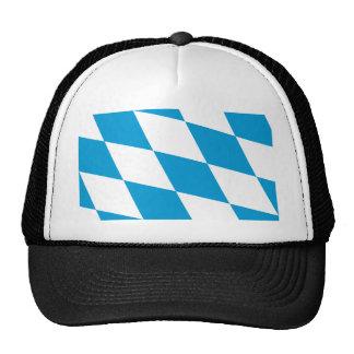 Bavaria Lozengy Germany flag Trucker Hat