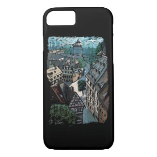 bavaria Nuremberg Germany skyline architecture iPhone 8/7 Case